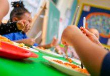 nursery school scene