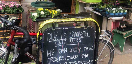 sign board outside shop