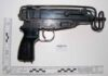 macine pistol as police exhibit