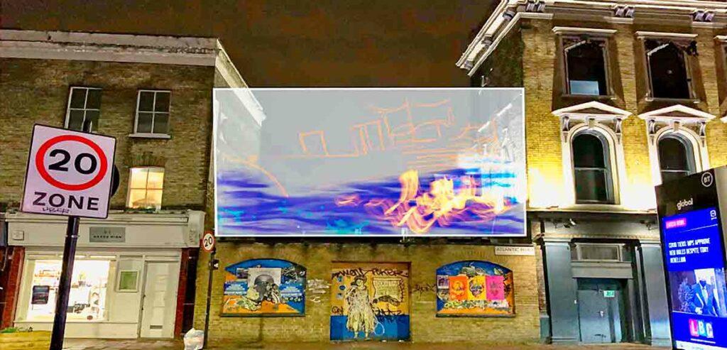big outdoor screen