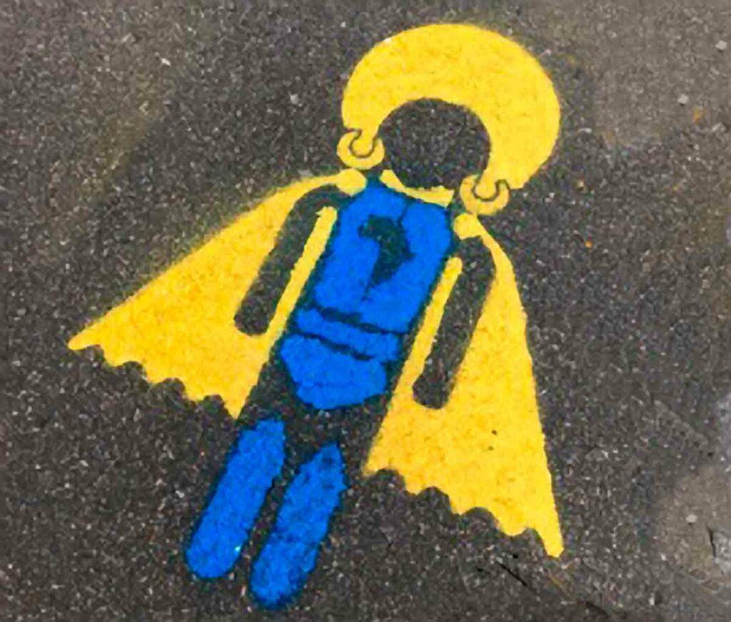 pavement stencil