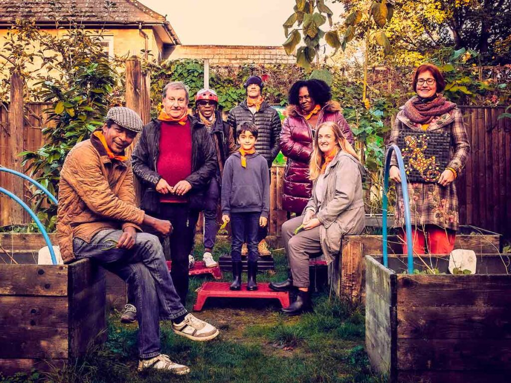 group of gardeners