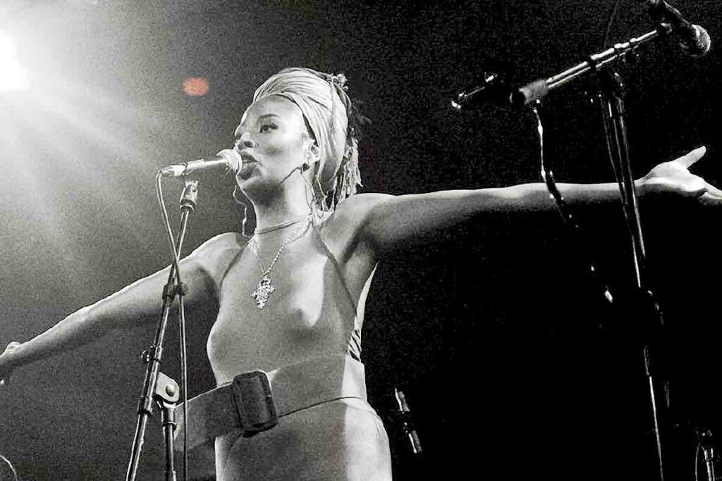 woman performer