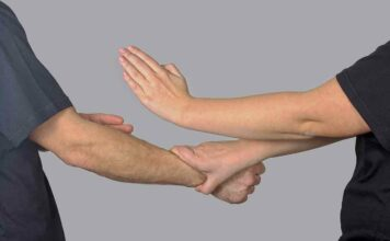 arms and hands exercise