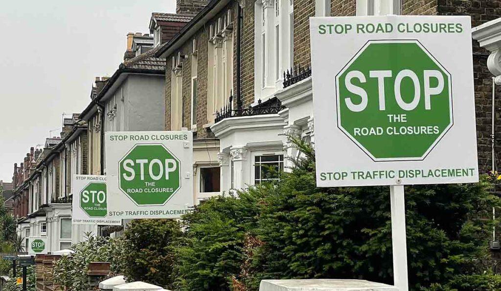 anti LTN signs