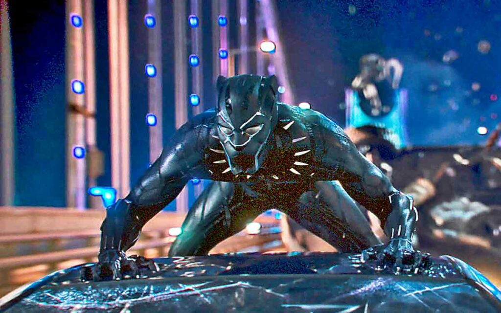 still from Black Panther