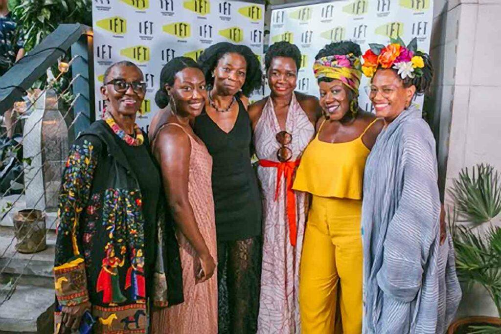 line-up of Black female actors