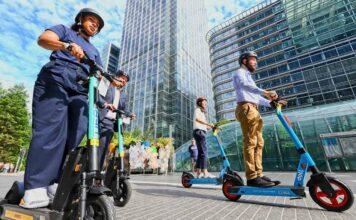 e-scooter riders