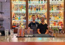 two bartenders
